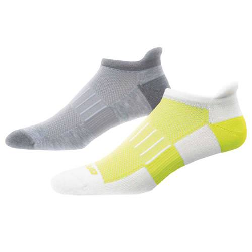 Brooks Ghost Midweight Two-Pack Sock White, Oxford 741543056