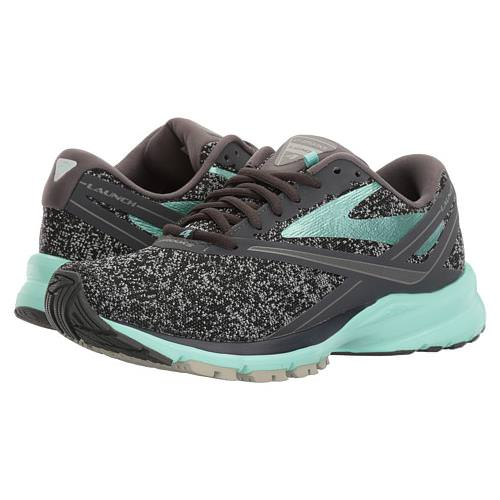Brooks Launch 4 Women's Running Anthracite, Beach Glass, Silver 1202341B048