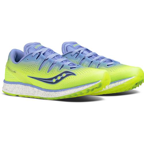 Saucony Freedom ISO Women's Purple, Citron S10355-4