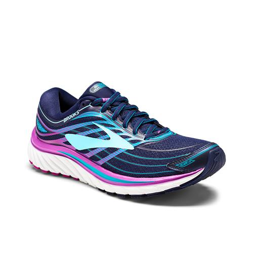 Brooks Glycerin 15 Women's Running Evening Blue, Purple Cactus Flower, Teal 1202471B465