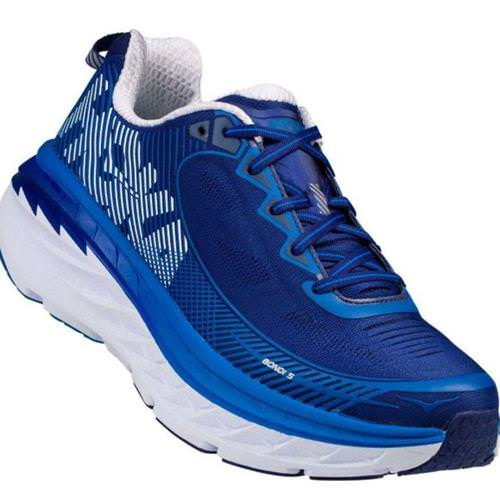 Hoka One One Bondi 5 Men's Blueprint, White 1014757 BTWH