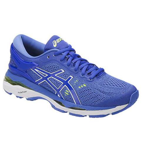 Asics Gel Kayano 24 Women's Running Shoe Blue Purple, Regatta Blue, White T799N 4840