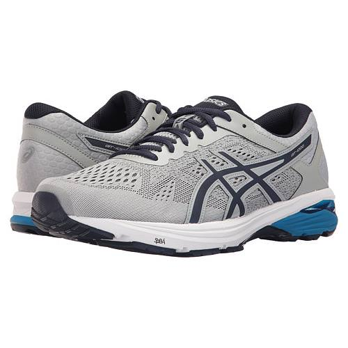 Asics GT-1000 6 Men's Running Shoe Mid Grey, Peacoat, Directoire Blue T7A4N 9658