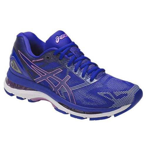 Asics Gel Nimbus 19 Women's Running Shoe Blue, Violet, Airy Blue T750N 4832