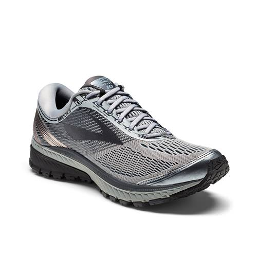 Brooks Ghost 10 Men's Running Primer Grey, Metallic Charcoal, Ebony 1102571D034
