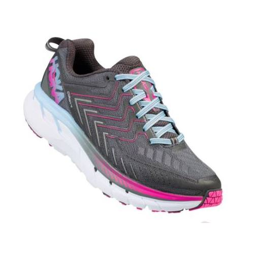 Hoka One One Clifton 4 Women's Castle Rock, Asphalt 1016724 CRAS