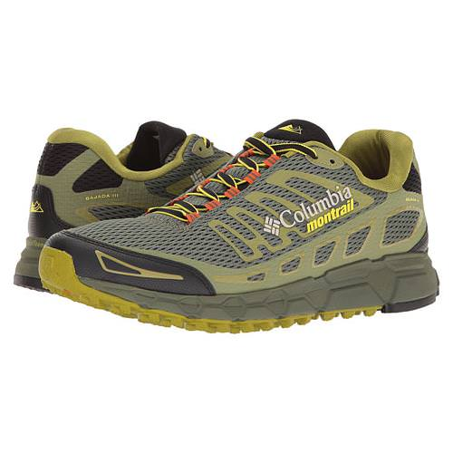 Columbia Montrail Bajada III Mens Trail Running Shoe Cypress, Cool Moss BM4570 316