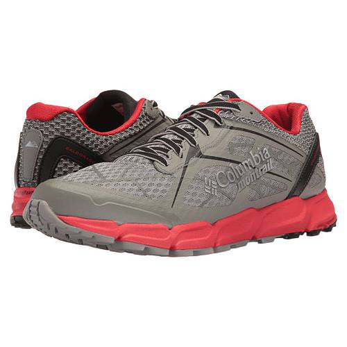 Columbia Montrail Caldorado II Mens Trail Running Shoe Charcoal, Bright Red BM4571 030