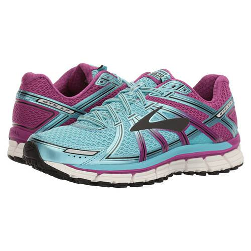 Brooks Adrenaline GTS 17 Women's Running Iceland Blue, Hollyhock, Black 1202311B489