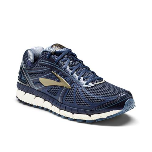 Brooks Beast '16 Men's Running Wide 4E Peacoat Navy, China Blue, Gold 1102274E413