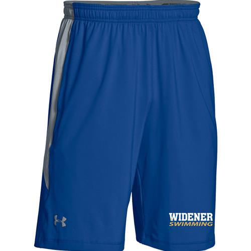 Widener Swimming Under Armour Men's Raid Colorblock Shorts WITH POCKETS 1293904