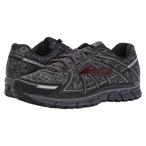 Brooks Adrenaline GTS 17 Men's Running Metallic Charcoal, Black, Tawny Port 1102411D015