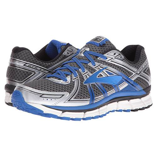 Brooks Adrenaline GTS 17 Men's Anthracite, Electric Brooks Blue, Silver 1102411D017