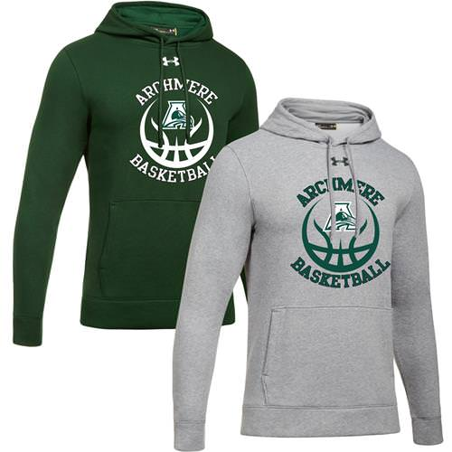 Archmere Basketball Under Armour Hustle Fleece Hoody 1300123