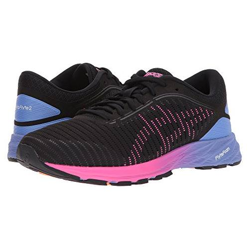 Asics DynaFlyte 2 Women's Running Shoe Black, Pink, Persian Jewel T7D5N 9020