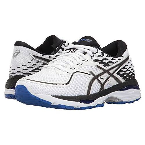 Asics GEL-Cumulus 19 Women's Running White, Black, Blue Purple T7B8N 0190