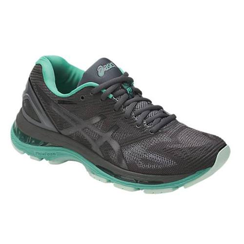 Asics Gel Nimbus 19 LITE-SHOW Women's Running Shoe Grey, Black, Reflective T7C8N 9590