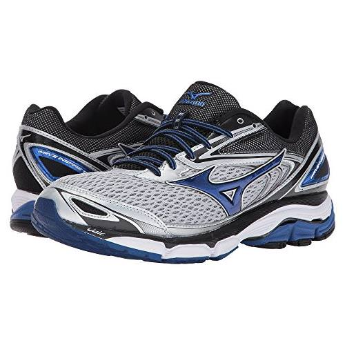 Mizuno Wave Inspire 13 Men's Running Shoes Silver, True Blue, Black 410875.735R