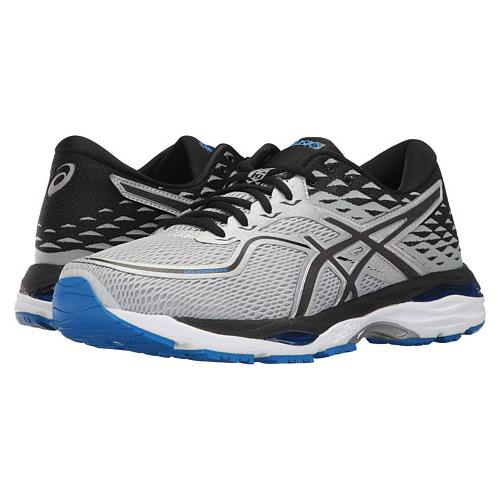 Asics GEL-Cumulus 19 Men's Wide EE Running Glacier Grey, Black,Directoire Blue T7B4N 9690