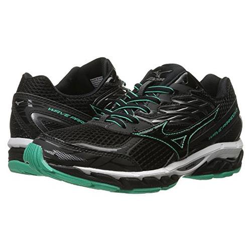 Mizuno Wave Paradox 3 Women's Running Shoes Black, Electric green, White 410788.908D