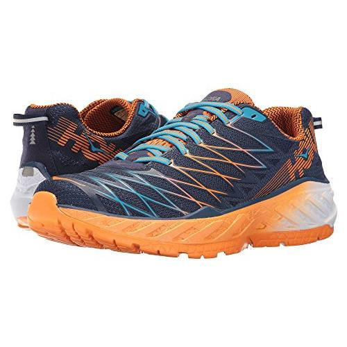 Hoka One One Clayton 2 Men's Medieval Blue, Persimmon Orange 1014774 MBPO