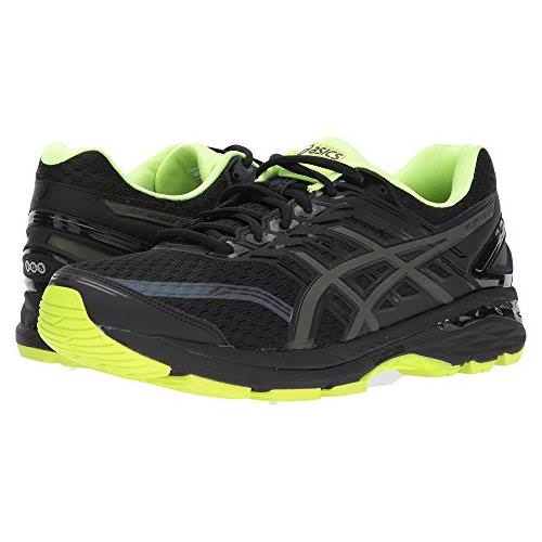Asics GT-2000™ 5 Lite-Show Men's Running Shoe Black, Safety Yellow, Reflective T7E1N 9007