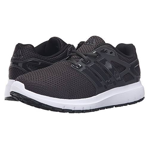 Adidas Energy Cloud WTC Mens Running Shoes in Black, White BA7520