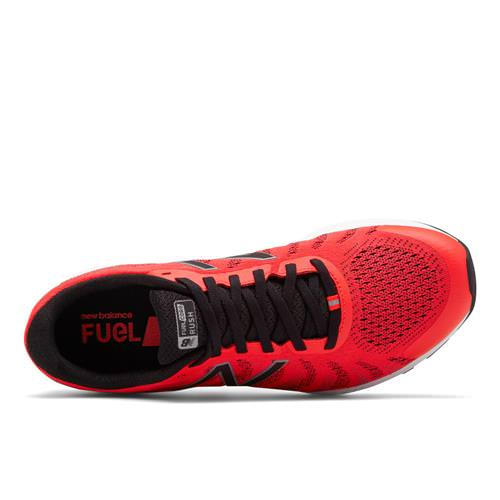 34e06b4adf0d8 New Balance FuelCore Rush v3 Men's Running Shoe Energy Red, Black, White  MRUSHER3. Additional Photos (click to enlarge):