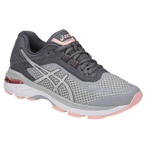 Asics GT-2000™ 6 Women's Running Shoe Mid Grey, Silver, Carbon T855N 9693