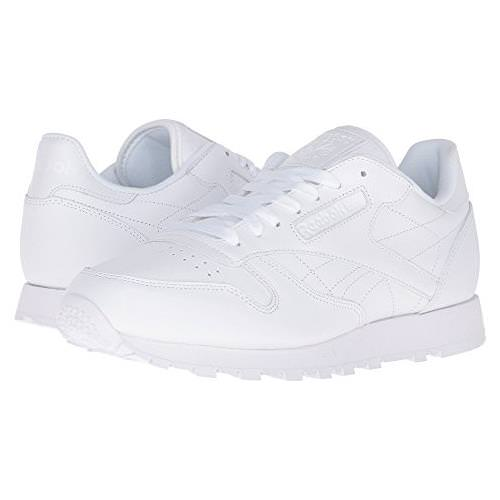 Reebok CL Leather R12 White, White, White  Men's Classic V44337