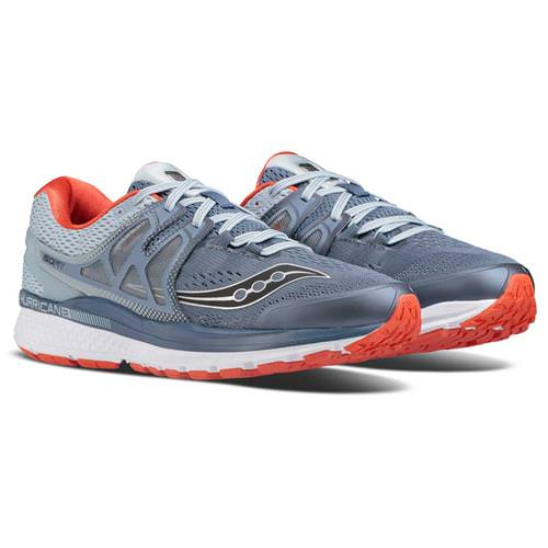 Saucony Hurricane ISO 3 Men's Grey, Blue, Red S20348-4