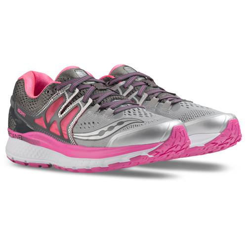 Saucony Hurricane ISO 3 Wide D Women's Grey, Pink, White S10349-1