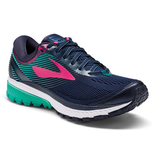 Brooks Ghost 10 Women's Running Navy, Pink, Teal Green 1202461B451