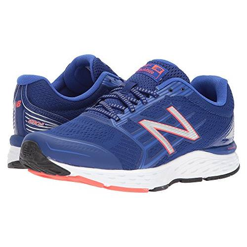 New Balance 680v5 Men's Deep Pacific, Pacific, Flame M680LP5