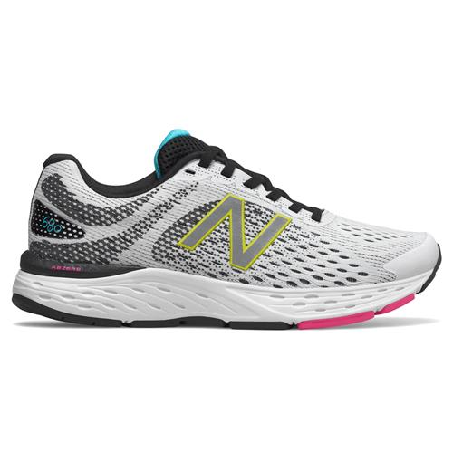New Balance 680v6 Women's Running White, Black, Multi W680CR6