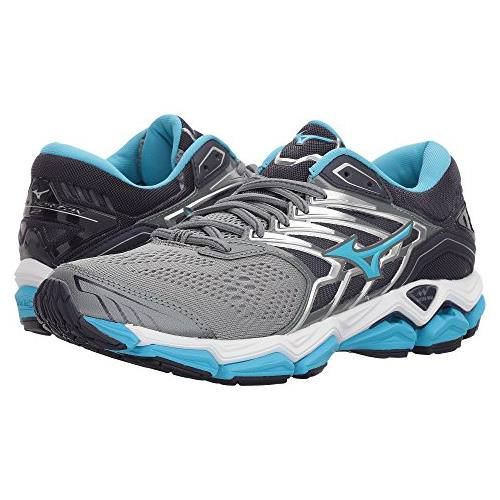 Mizuno Wave Horizon 2 Women's Running Monument, Aquarius 410982.9B57