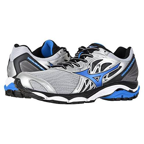 Mizuno Wave Inspire 14 Men's Running Shoes Wide EE Silver, Directoire Blue 410984.735N