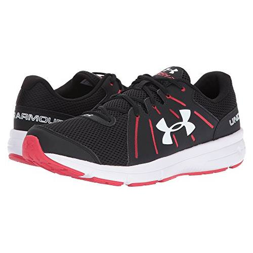 Under Armour UA Dash RN 2 Mens Running Shoe for Black, Red, White 1285671-003
