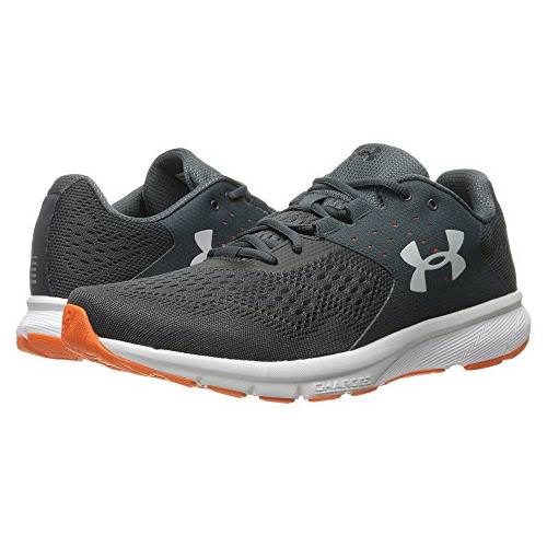 Under Armour Charged Rebel Mens Running Shoe in Stealth Gray, Glacier Gray, Black 1298553-008