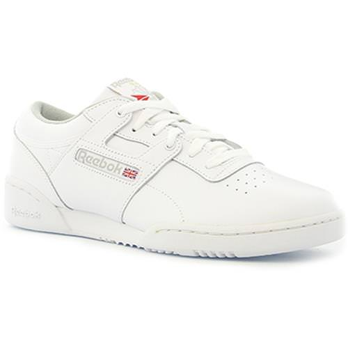 Reebok Workout Low Int-White, Grey CN0636