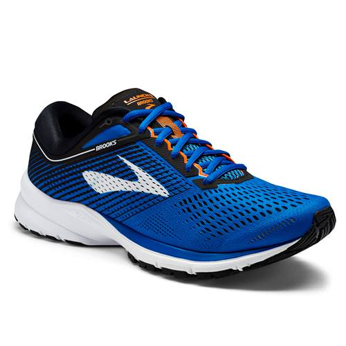Brooks Launch 5 Men's Running Blue, Black, Orange 1102781D420
