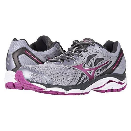 Mizuno Wave Inspire 14 Women's Running Shoe Wide D Dapple Gray, Clover 410987.9M61