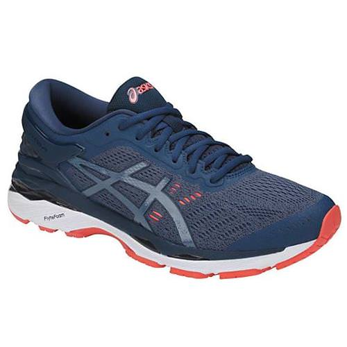 Asics Gel Kayano 24 Men's Running Shoe Smoke Blue, Smoke Blue, Dark Blue T749N 5656