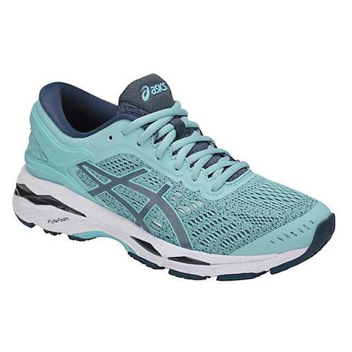 Asics Gel Kayano 24 Women's Running Shoe Porcelain Blue, Smoke Blue, White T799N 1456