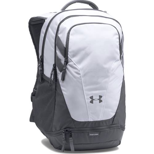 Under Armour Hustle 3.0 Backpack White, Graphite 1306060- 100