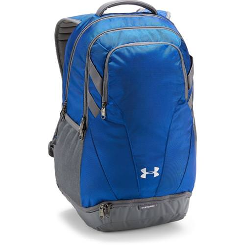 Under Armour Hustle 3.0 Backpack Royal, Graphite 1306060- 400