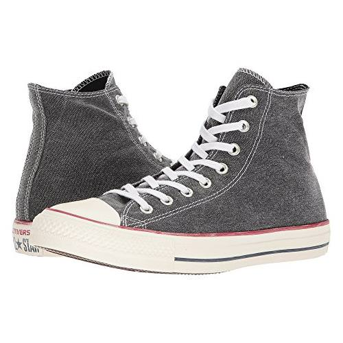 Converse Chuck Taylor All Star Hi Stonewashed Black 159537F