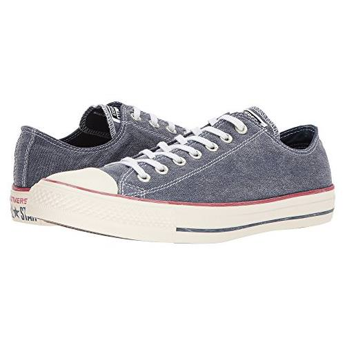 Converse Chuck Taylor Men's All Star Stonewashed Low Navy 159539F