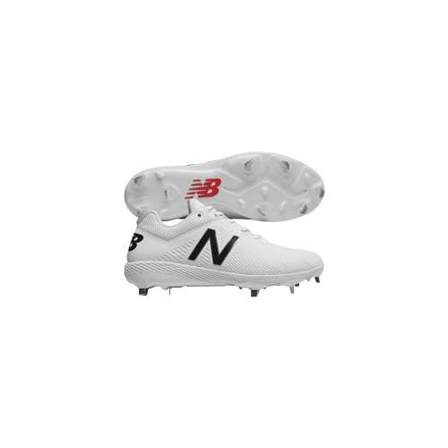 New Balance L4040v4 Men's Low Metal Cleat Elements Pack White L4040SW4