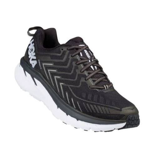 Hoka One One Clifton 4 Men's Black, White 1016723 BWHT